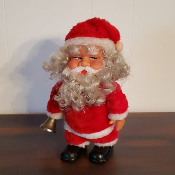 Vintage Musical Animated Santa - 1970s - WORKS!